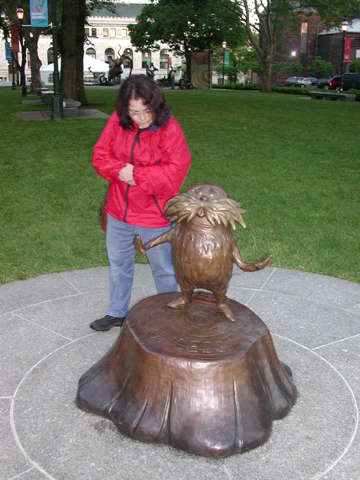 Arlene with the Lorax